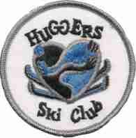Early Huggers Ski Club patch